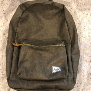 Hershel brown/gold backpack - perfect condition